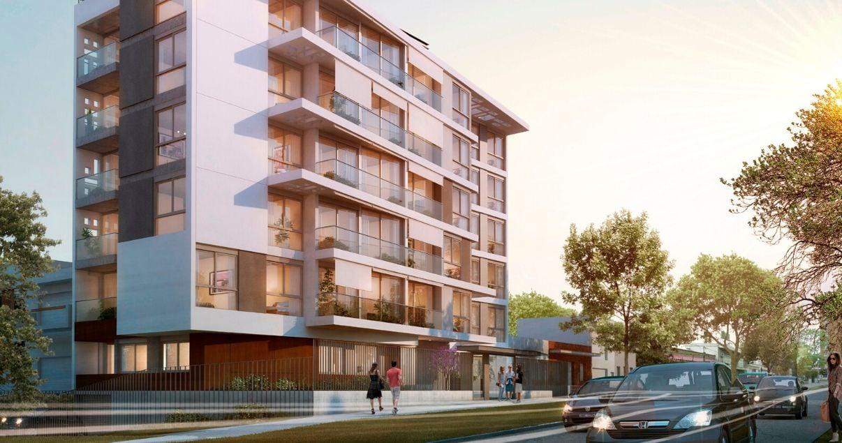 Render de Masmio, desarrollo inmobiliario de LGD Arquitectos