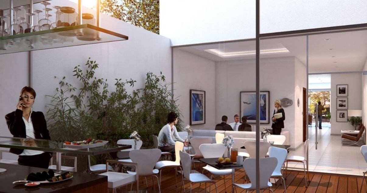 render de Trade Point, proyecto inmobiliario del estudio de arquitectos mokobocki