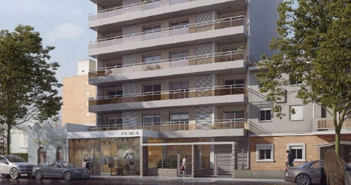 Frente del edificio Arenas 26, un proyecto de arquitectos Pablo Gejer