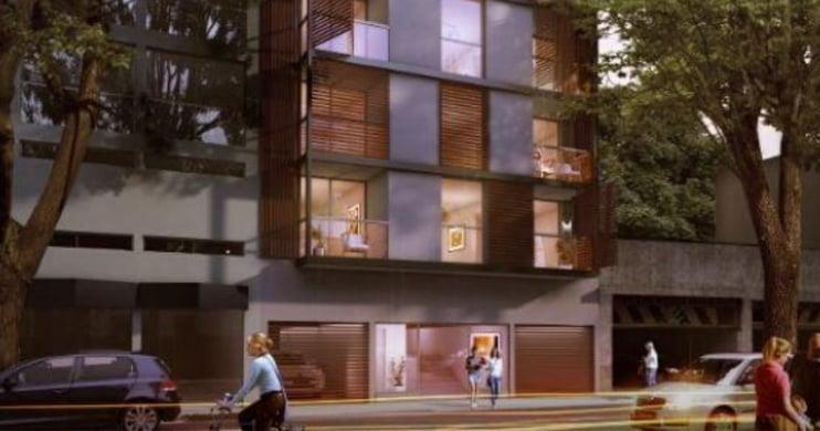 Fachada de Glosker ciudadela, proyecto de la promotora inmobiliaria Glosker S.A.