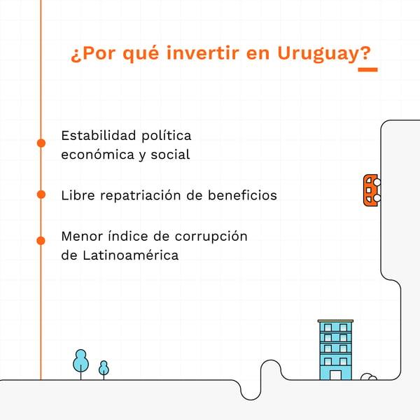 Razones para invertir en uruguay