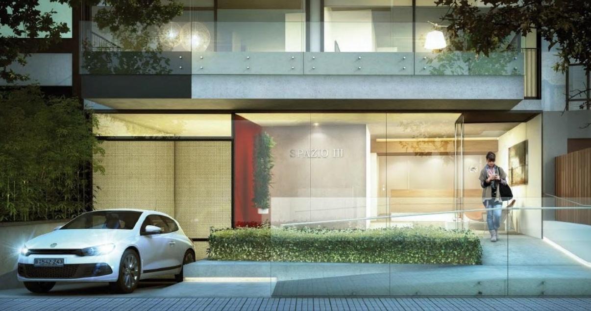 Render de Spazio III, desarrollo inmobiliario de LGD Arquitectos