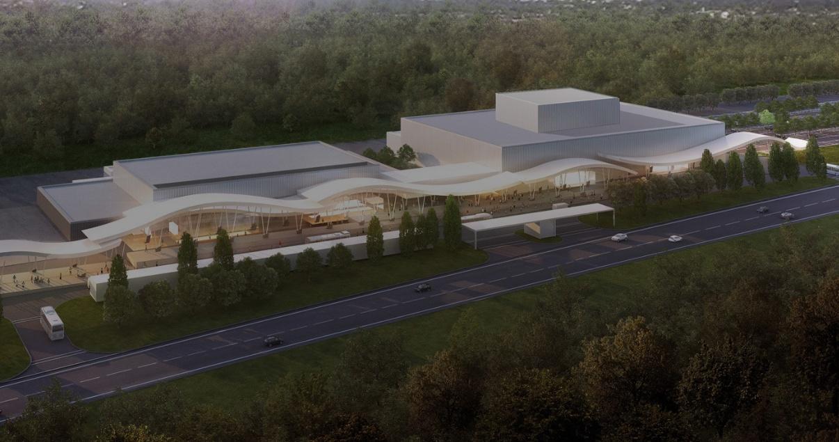 Centro de Convenciones y Predio ferial Puntal del Este, desarrollo inmobiliario de LGD Arquitectos